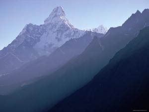 View of Mount Everest by George Silk