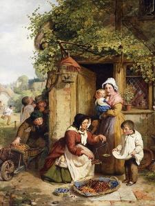 The Cherry Seller, 1856 by George Smith