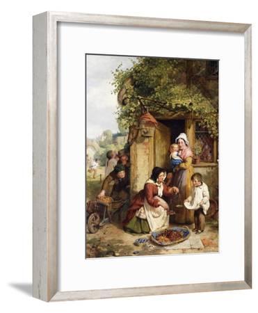 The Cherry Seller, 1856