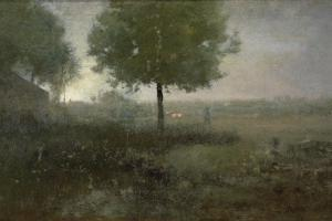 Misty Morning, Montclair, 1893 by George Snr. Inness