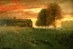 Sunset, Montclair, 1892 by George Snr. Inness