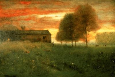 Sunset, Montclair, 1892 by George Snr^ Inness