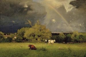 The Rainbow, C.1878-79 by George Snr^ Inness