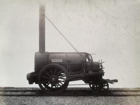 George Stephenson's 'Rocket', c1905-Unknown-Photographic Print