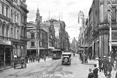 George Street, Sydney, Australia, C1900s
