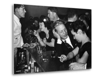 Typical Small Town Bar Scene During a Benevolent and Protective Order of Elks Party