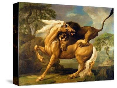 A Lion Attacking a Horse, c.1762