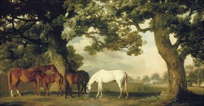 Green Pastures (A Family Group) by George Stubbs