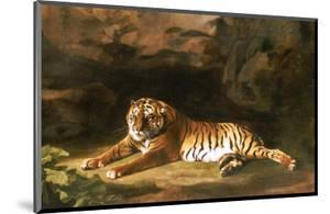 Portrait of the Royal Tiger, circa 1770 by George Stubbs
