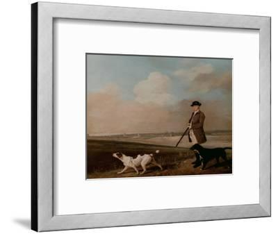 Sir John Nelthorpe, 6th Baronet out Shooting with His Dogs in Barton Field, Licolnshire, 1776