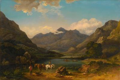 Llyn Nantlle, North Wales, C.1777