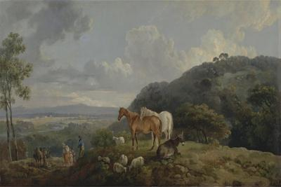 Morning: Landscape with Mares and Sheep, C.1770-80