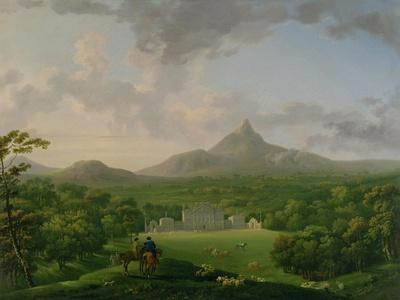 View of Powerscourt, County Wicklow, c.1760-2