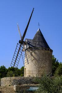 France, Provence. Joucas windmill by George Theodore