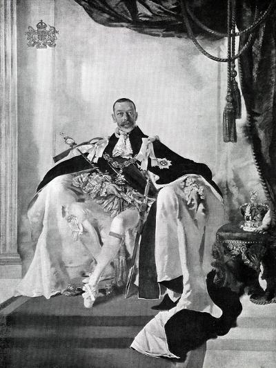 George V, 1924-Charles Sims-Giclee Print