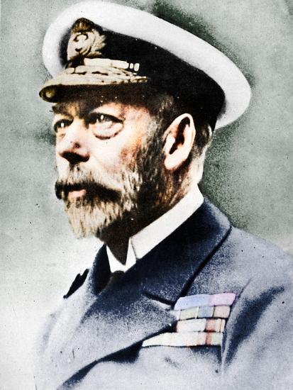 'George V, King of the United Kingdom from 1910', c1936, (1945)-Unknown-Photographic Print