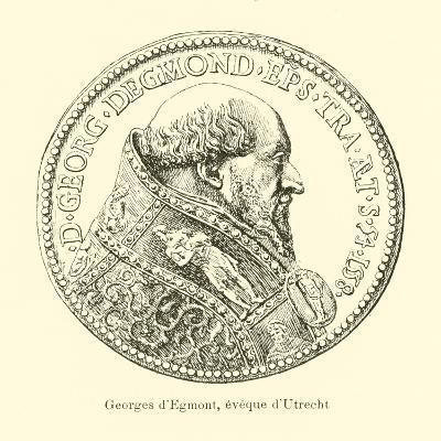 George Van Egmond, Bishop of Utrecht--Giclee Print