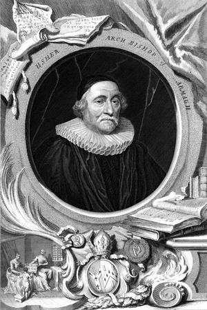 James Ussher, 17th Century English Clergyman and Archbishop of Armagh, 18th Century