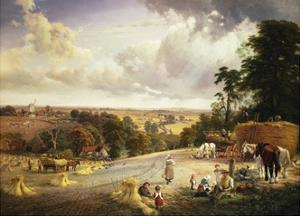 A Summer's Afternoon, Near Mereworth, Kent by George Vicat Cole