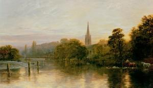 Great Marlow by George Vicat Cole