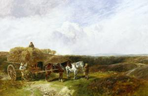 Haymaking by George Vicat Cole