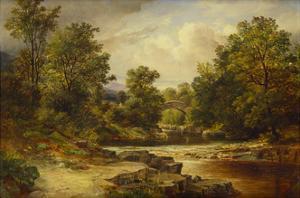 Langdale Pikes, Westmorland by George Vicat Cole