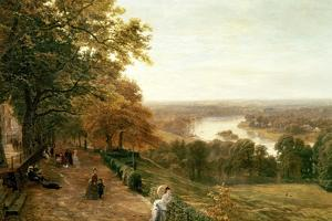 Richmond Hill, London by George Vicat Cole