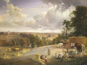 Summer's Afternoon, near Merryworth, Kent by George Vicat Cole