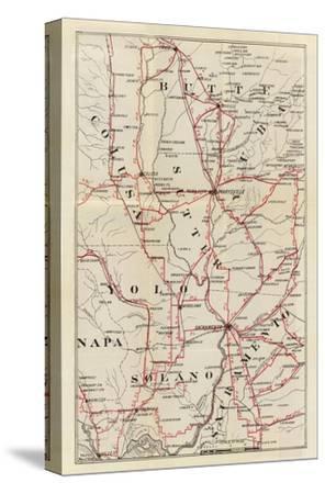 California: Colusa, Yolo, Napa, Butte, Yuba, Sutter, Solano, and Sacramento Counties, c.1896