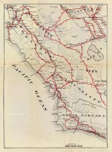 California: San Benito, Fresno, Monterey, San Luis Obispo, Kings, Kern, and Santa Barbara, c.1896 by George W. Blum
