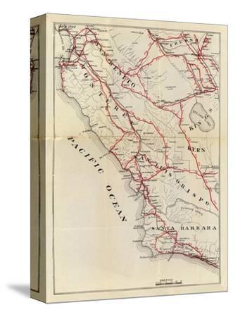 California: San Benito, Fresno, Monterey, San Luis Obispo, Kings, Kern, and Santa Barbara, c.1896