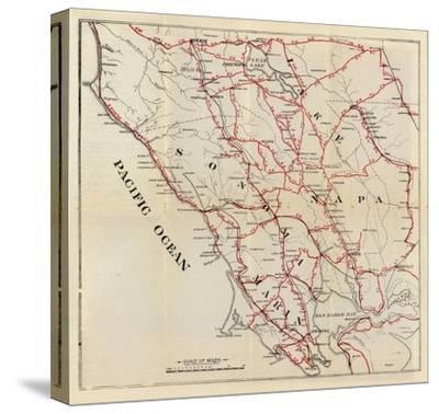 California: Sonoma, Marin, Lake, and Napa Counties, c.1896