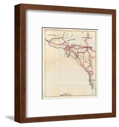 California: Ventura, Los Angeles, San Bernardino, Orange, and San Diego Counties, c.1896