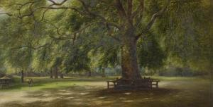The Old Plane Tree by George Wallis