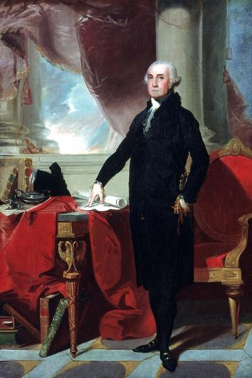 George Washington (1732-9), 1796-Gilbert Stuart-Giclee Print