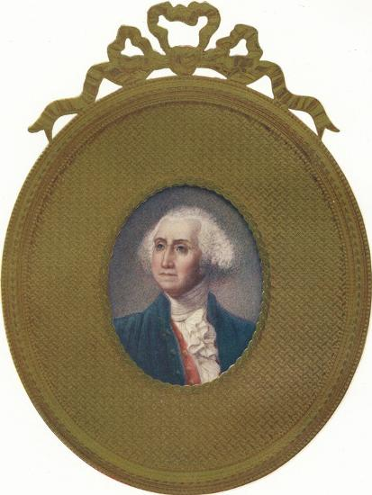 George Washington (1732-99), first President of the United States, (1907)-Unknown-Giclee Print