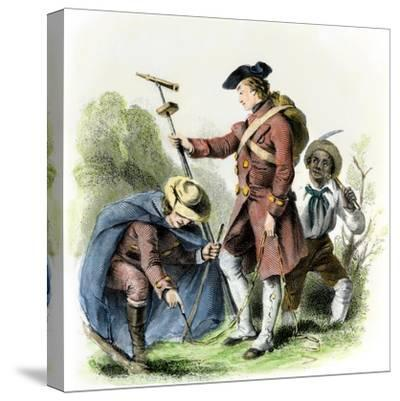 George Washington as a Surveyor in Virginia