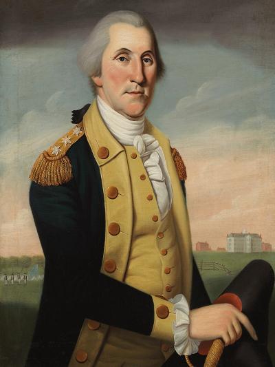 George Washington at Princeton-Charles Peale Polk-Giclee Print