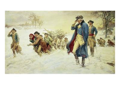 George Washington at Valley Forge-Frederick Coffay Yohn-Giclee Print