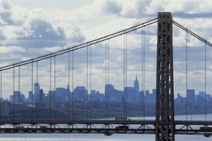 George Washington Bridge Framing Manhattan