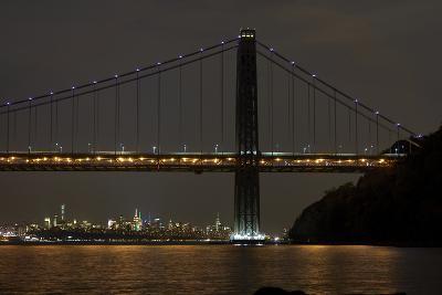 George Washington Bridge II-James McLoughlin-Photographic Print