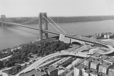 George Washington Bridge--Photographic Print