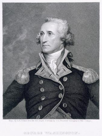 photo relating to Printable Pictures of George Washington identify George Washington, engraved by means of Asher Brown Durand Giclee Print through John Trumbull