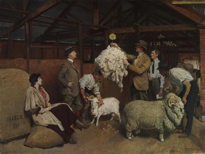 Weighing the Fleece, 1921