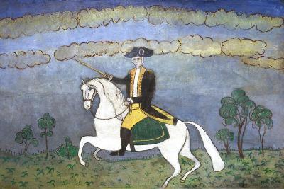 George Washington on Horseback--Giclee Print