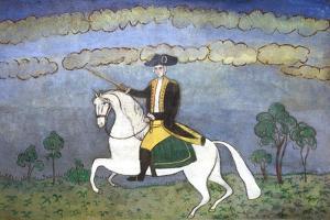 George Washington on Horseback