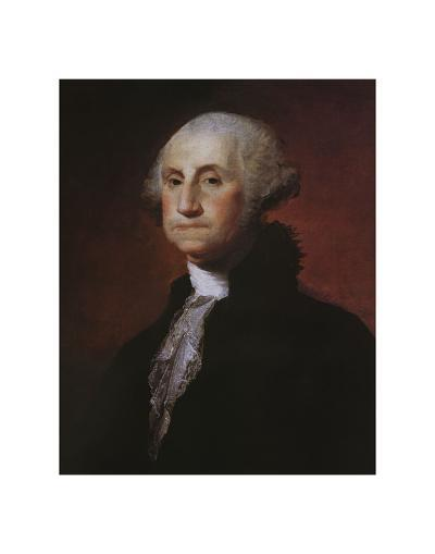 George Washington-Gilbert Stuart-Art Print