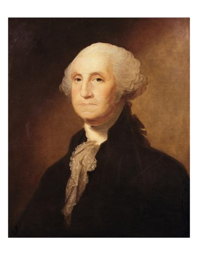 George Washington-Gilbert Charles Stuart-Giclee Print