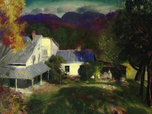 A Mountain Farm, 1920 by George Wesley Bellows