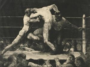 A Stag at Sharkey's, 1916 by George Wesley Bellows
